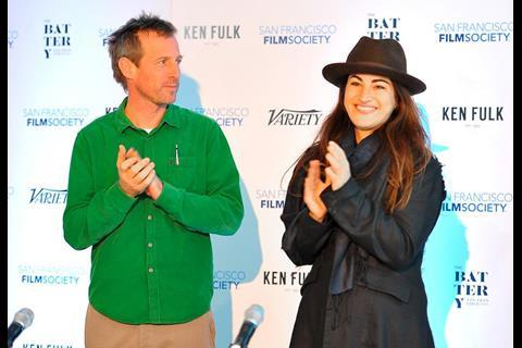 Spike Jonze and The Square director Jehane Noujaim.